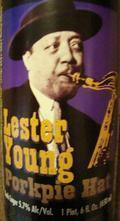 Angel City Lester Young Porkpie Hat Dark Lager