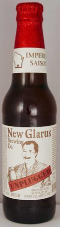 New Glarus Unplugged Imperial Saison