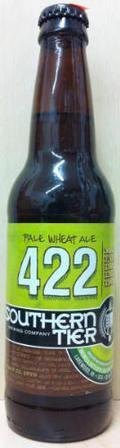 Southern Tier 422 Pale Wheat Ale - Wheat Ale
