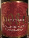 Haimhauser 1608 Jubil�umsbier