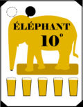 L�Am�re � Boire Elephant 10�