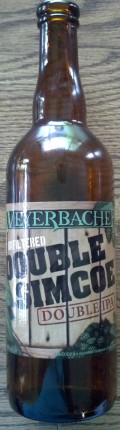 Weyerbacher Unfiltered Double Simcoe IPA - Imperial IPA