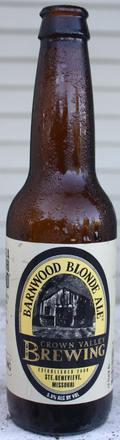 Crown Valley Barnwood Blonde Ale