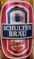 Schulten Br�u Ros� Bier