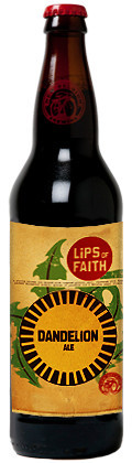 New Belgium Lips of Faith - Dandelion Ale - Spice/Herb/Vegetable