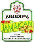 Brodies Jamaican Stout 5.0% - Stout