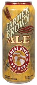 Great River Organic Farmer Brown Ale