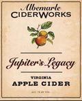 Albemarle Ciderworks Jupiter's Legacy