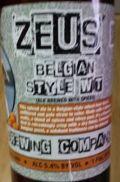 Millys Tavern Zeus�s Belgian Wit