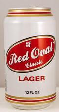 Red Oval Classic Lager
