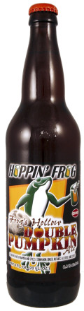 Hoppin� Frog Frog�s Hollow Double Pumpkin Ale