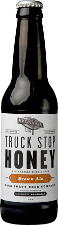 Back Forty Truck Stop Honey Brown Ale - Brown Ale