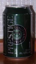 Prestige Quality Premium Beer