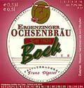 Ergenzinger Ochsenbräu Bock