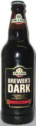 J.W. Lees Brewers Dark (Bottle)