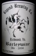 Legend Barleywine (through 2008)
