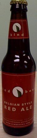 Kind Beers Belgian Red Ale