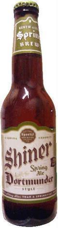 Shiner Spring Ale Dortmunder