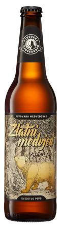 Pivovara Medvedgrad Zlatni Medvjed - Pilsener
