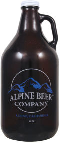 Alpine Beer Company Toronado Red