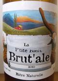 Garrigues La p'tite Bière Brut'ale Bière Naturelle