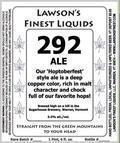 Lawson�s Finest 292 Ale - Amber Ale