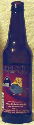 Indian Wells Whole Hog Smoked Porter - Smoked