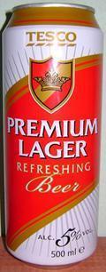Tesco Premium Lager
