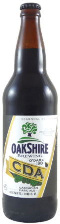 Oakshire O�Dark:30 Cascadian Dark Ale