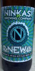 Ninkasi ReNEWAle Mason�s Irish-Style Red Ale - Irish Ale