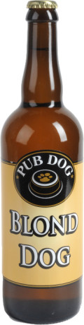 Pub Dog Blond Dog