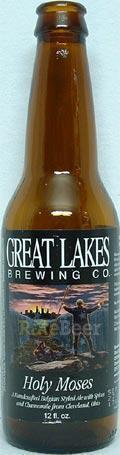 Great Lakes Holy Moses White Ale - Witbier