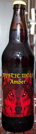 Pale Horse Mystic Wolf Amber