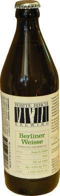 White Birch Berliner Weisse