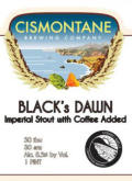 Cismontane Black's Dawn