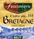 La Fauconnerie Cidre de Bretagne Brut
