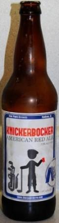 Blue Pants Knickerbocker Red