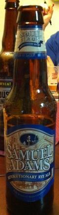 Samuel Adams Revolutionary Rye Ale - Specialty Grain