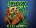 Half Acre Sticky Fat American Dark Ale