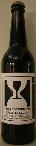 Hill Farmstead Fear and Trembling - French Oak Cabernet - Baltic Porter