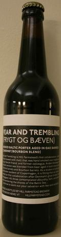 Hill Farmstead Fear and Trembling - Cabernet/Bourbon Blend