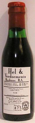 De Molen Hel & Verdoemenis Bordeaux BA - Imperial Stout