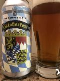 Peoples Pint Octoberfest