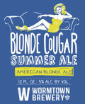 Wormtown Blonde Cougar Summer Ale