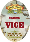 Sierra Nevada Beer Camp 030: Saison Vice