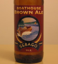 Sebago Boathouse Brown