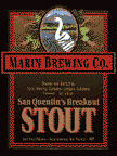 Marin San Quentin's Breakout Stout