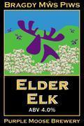 Purple Moose Elder Elk