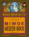 Marin Miwok Weizen Bock  - Weizen Bock