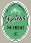 Slater�s Supreme